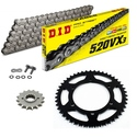 APRILIA Tuareg 125 Rally 90-93 Standard Chain Kit