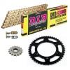 Sprockets & Chain Kit DID 428HD Gold DERBI Mulhacen 125 07-13