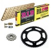 Sprockets & Chain Kit DID 428HD Gold DERBI Senda 125 Trail 04-05