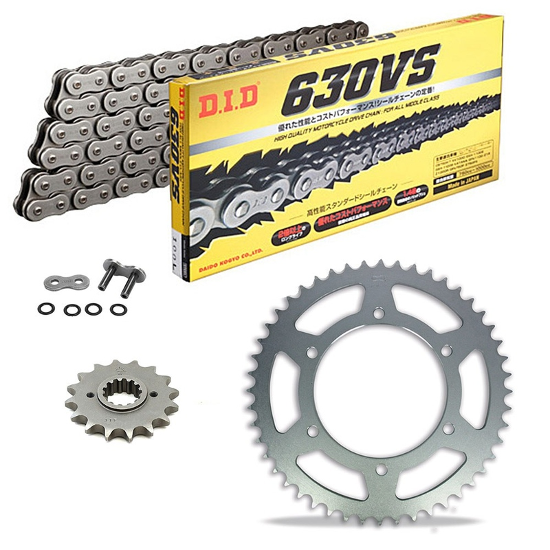 Sprockets & Chain Kit DID 630VS HONDA CB 750  F SOHC 77