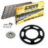 KIT DE TRANSMISION DID 630VS Gris Acero HONDA CBX 1050 78-79