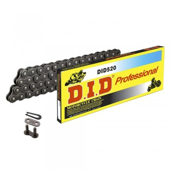 DID CHAIN 520 DS Standard Steel Gray