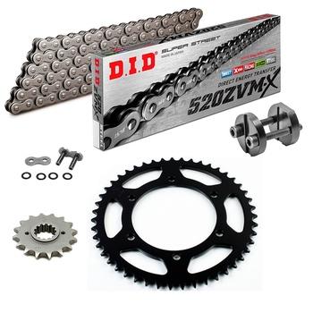 * Triumph Bonneville 800 t100 did cadenas frase Chain kit ZVM-X 525 G /& ggold 02-04