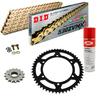 Sprockets & Chain Kit DID 530ZVM-X Gold DUCATI Multistrada 1260 18-20