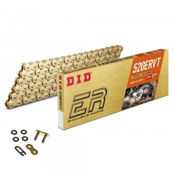 DID CHAIN 520 ERVT with X-RING Gold