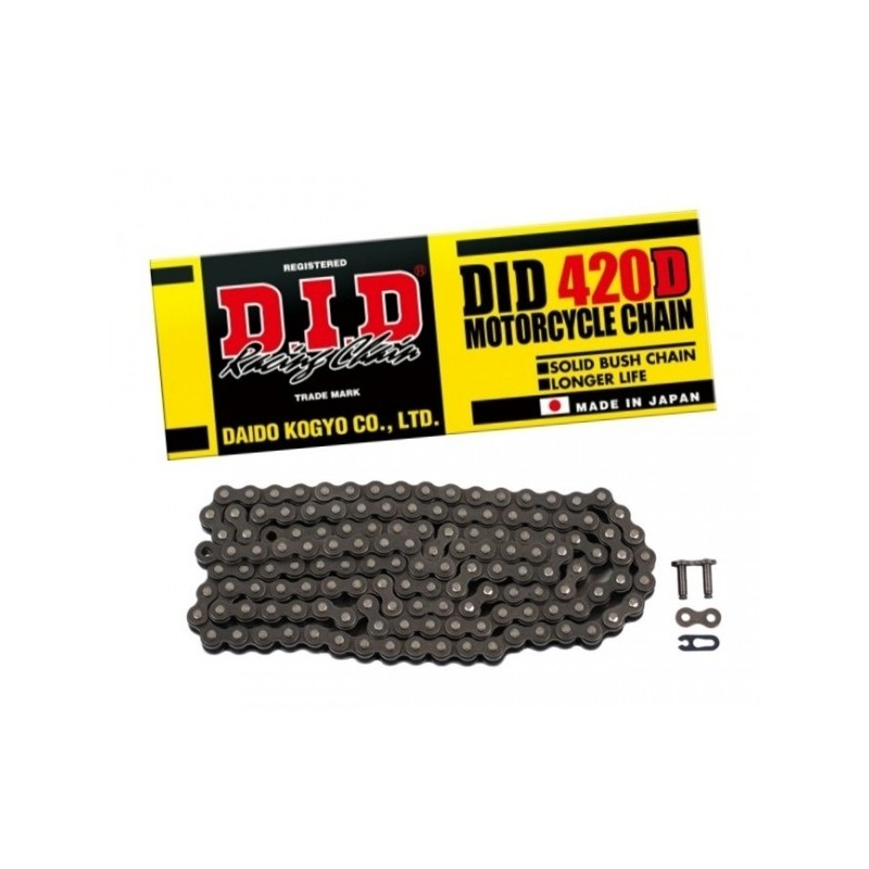 DID CHAIN 420 D Steel Gray