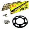 Sprockets & Chain Kit DID 525VX3 Gold & Black YAMAHA MT 07 TRACER 16-19