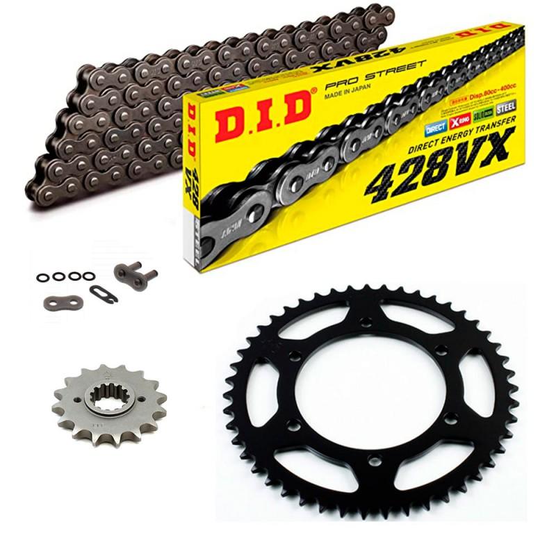 Sprockets & Chain Kit DID 428VX Steel Grey RIEJU Marathon AC 125 14-20