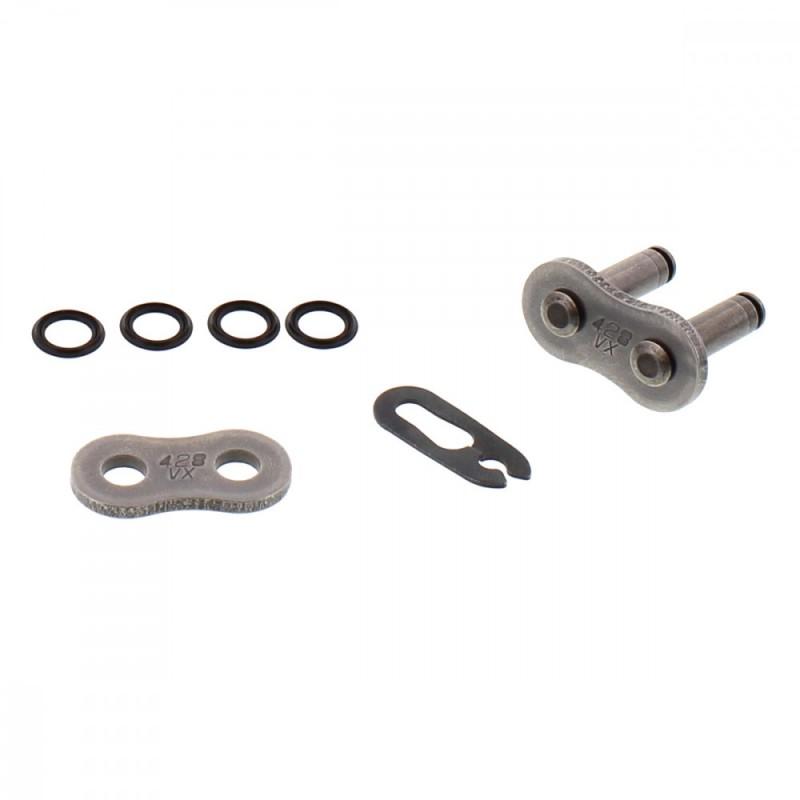 DID 428 VX Clip Type Link Grey Steel