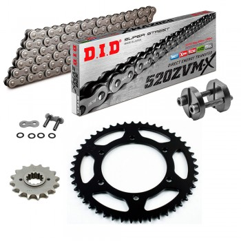 Sprockets & Chain Kit DID 520ZVM-X Steel Grey KTM DUKE 890 20
