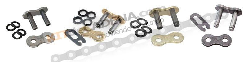 Eslabones de unión para cadena de moto